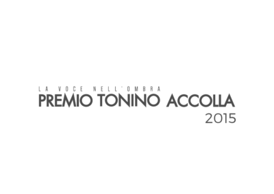 Premio Tonino Accolla 2015